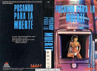 Posando para la Muerte = Double Exposure (1983) (La segunda edición que consigo de esta película)