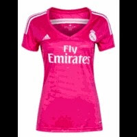 jual jersey ladies madrid away, grade ori, jual inline madrid away wanita, baju bola wanita madrid away, third