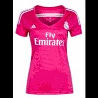 jual jersey ladies madrid away, grade ori, jual inline madrid away wanita, baju bola wanita madrid away, third