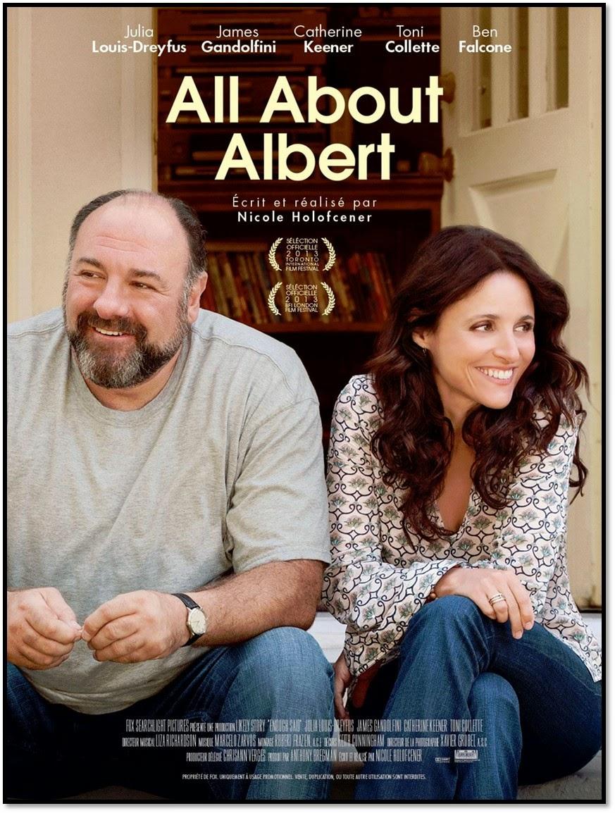 All About Albert ciné film Enough Said Nicole holofcener tony soprano Gandolfini Tavi Gavinson Toni Colette