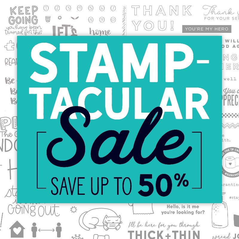CTMH Stamptacular Sale includes Stamp & Thin Cut Sets