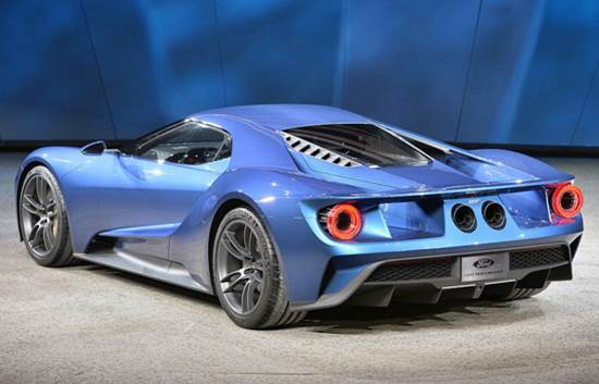 2017 Ford GT Price Tag and Engine Specs