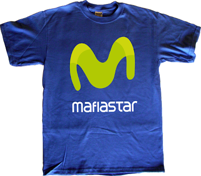 telefonica movistar mafia t-shirt ephemeral-t-shirts