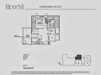 1+1 Bedrooms Floor Plans