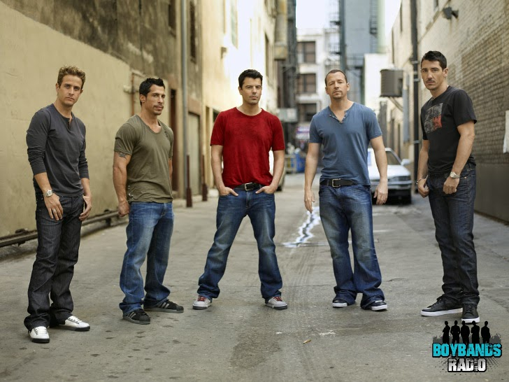 One of the biggest boybands in the late 80s and early 90s, New Kids On The Block made a come-back in 2008.