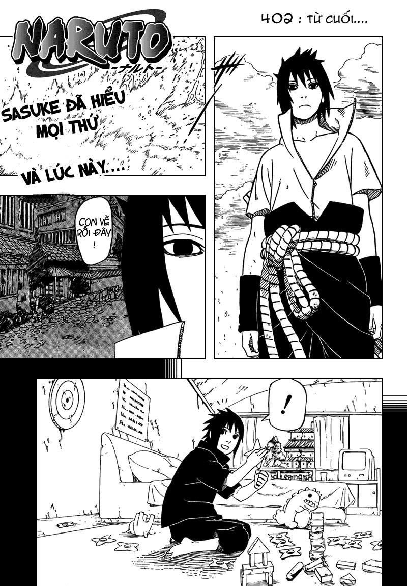 Naruto chap 402 Trang 1 - Mangak.info