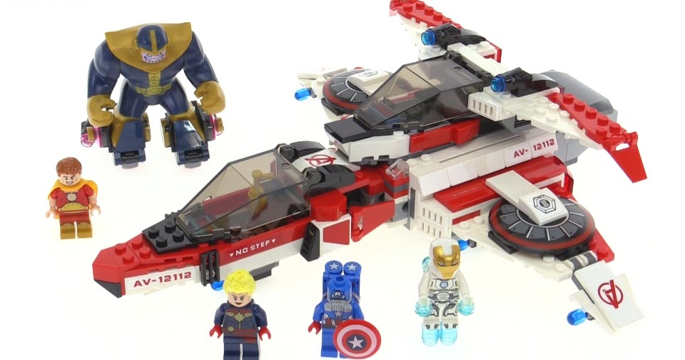 LEGO Marvel Super Heroes Avenjet Space Mission review! set ...