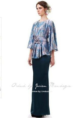 baju raya 2013 design jovian mandagie at tesco stores