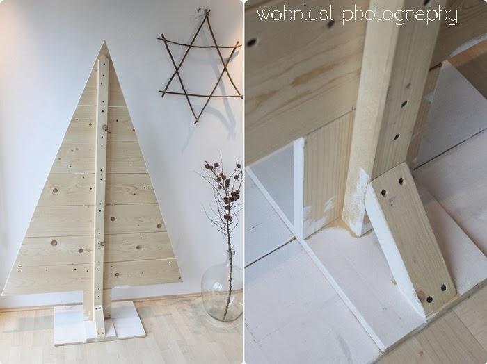 Diy navidad rbol de madera x4duros bloglovin - Arboles de navidad de madera ...