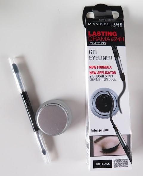 Maybelline Lasting drama gel eyelliner 01 Black