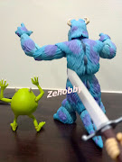 Revoltech Monster Inc Sulley VS Dragonball