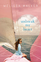 unbreak my heart by melissa walker book cover