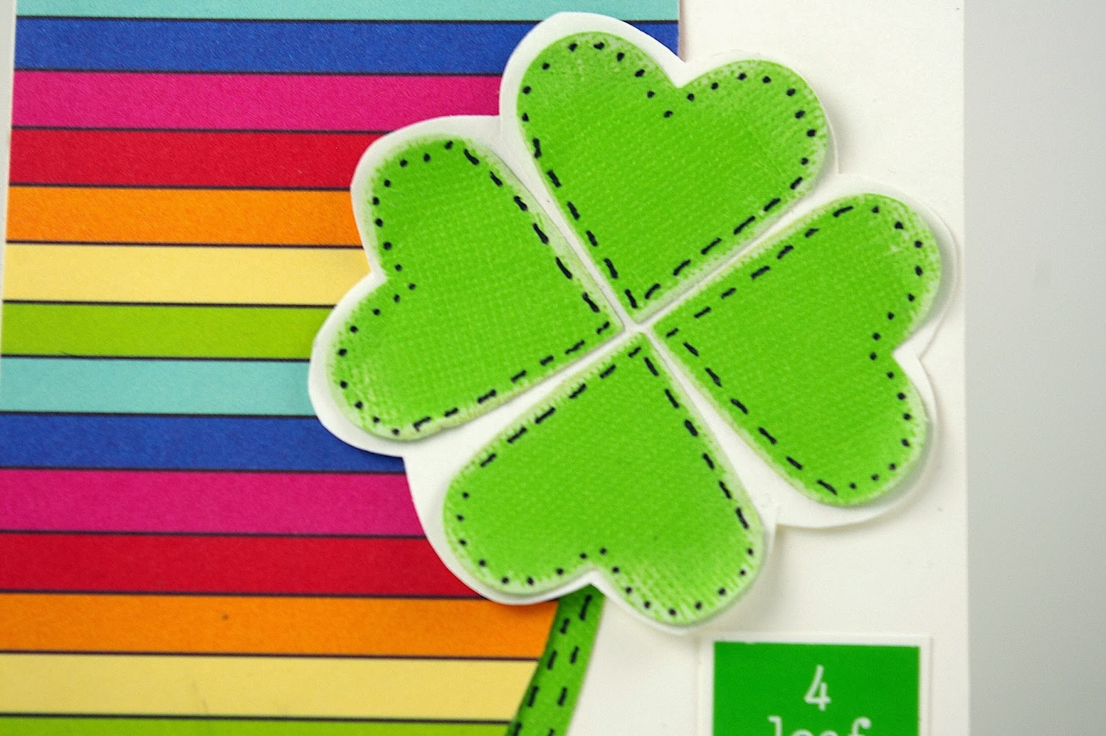 SRM Stickers Blog - St. Paddy's Celebration by Michelle - #card #stickers #SRM #clear box #food safe #St. Patrick's Day #party #treats