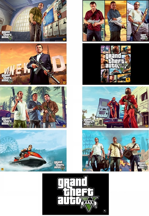 Grand Theft Auto V Theme For Windows 7 And 8 8.1