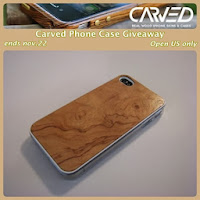 Carved Phone Case #Giveaway