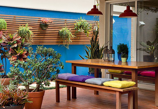 jardim vertical terraco:Escadex – Escadas para sótão e alçapão: Terraços e varandas