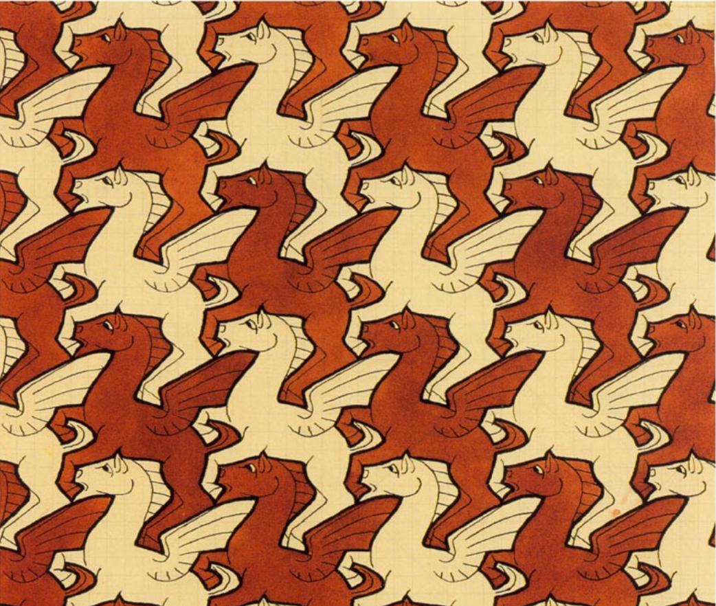 Gallery For gt Escher Tessellations