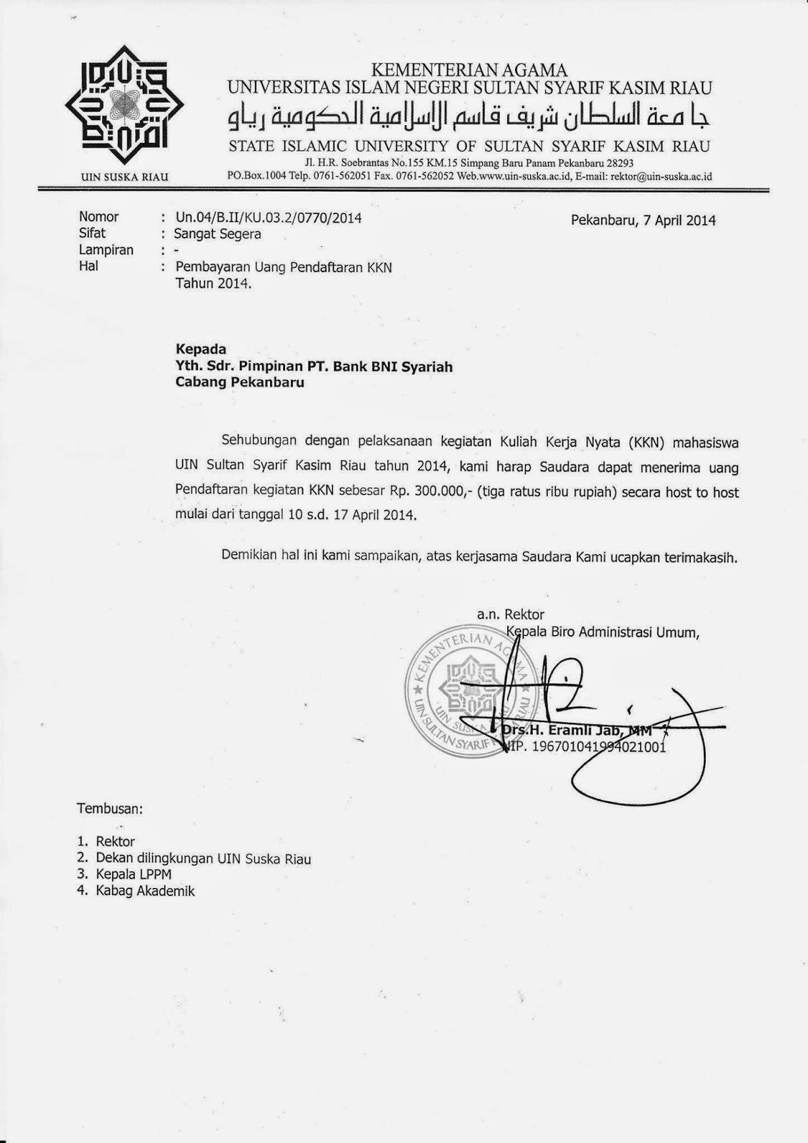 Contoh Surat Pemberitahuan Kegiatan Rt Info And News