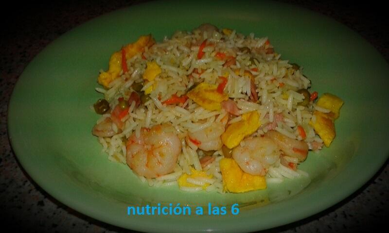 Arroz 3 delicias nutrici n a las 6 for Cocinar arroz 3 delicias