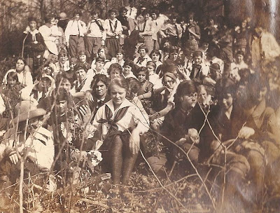 Hikers of Harrisonburg Teachers College 1924