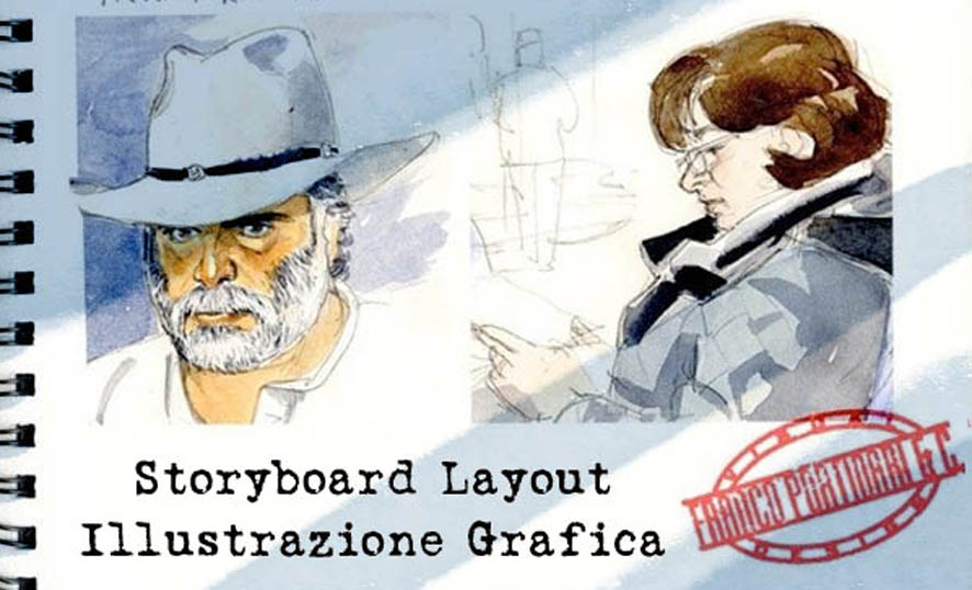 Franco Portinari - Giovanna Carbone - Visualizer - Storyboard Artist -Graphic design