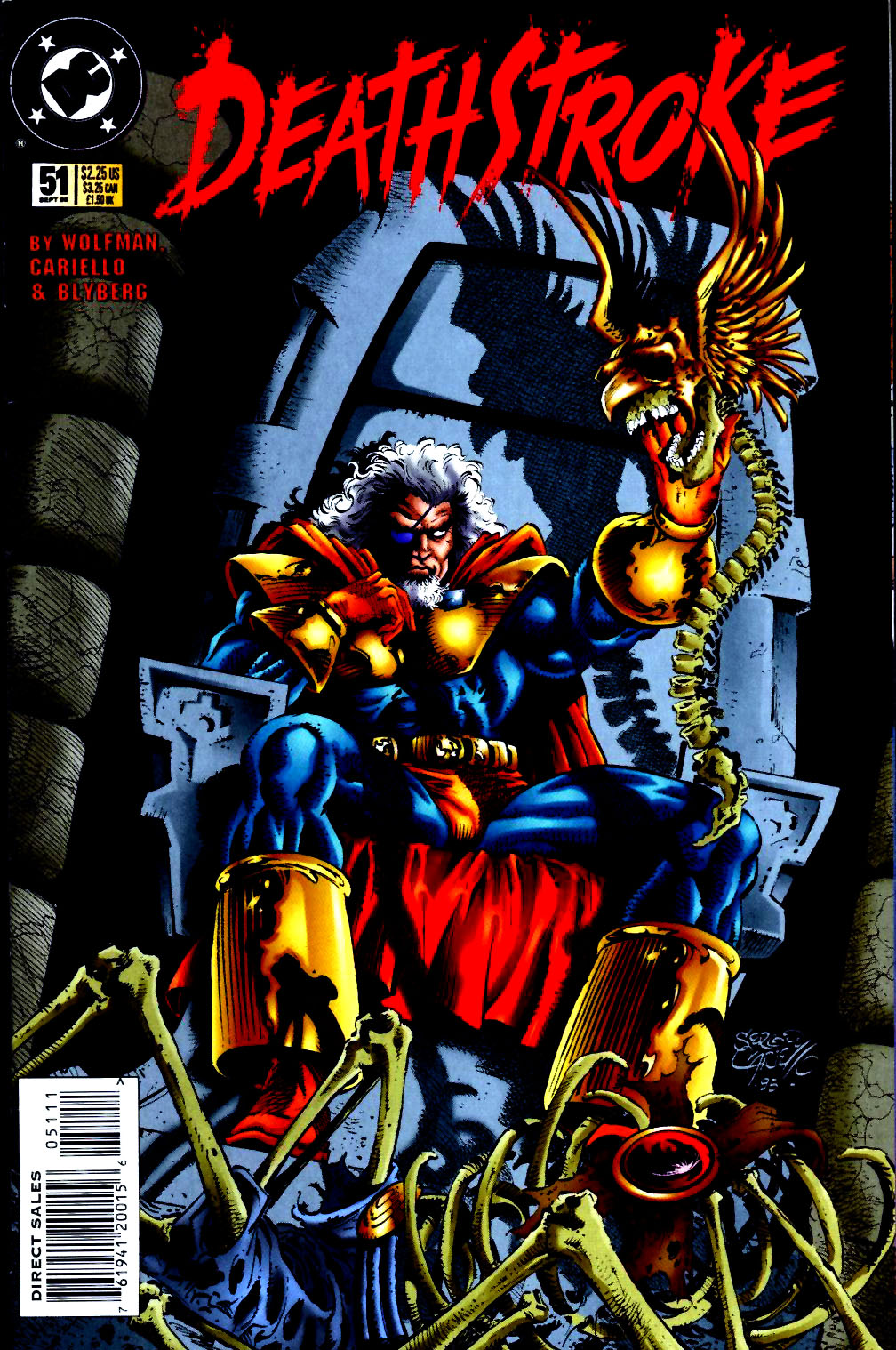 Deathstroke (1991) Issue #51 #56 - English 1