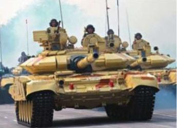 Indian Army tanks ride