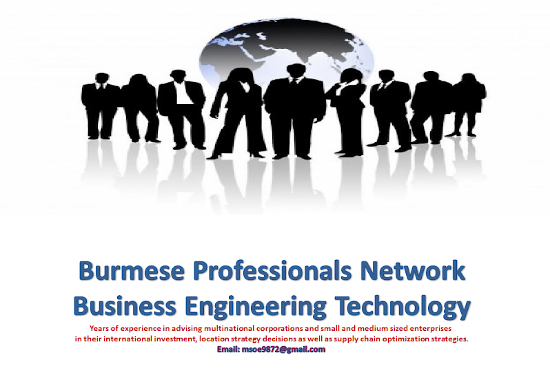 Burmese Professionals Network- Business Engineering Technology