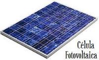 energia solar: célula fotovoltaica