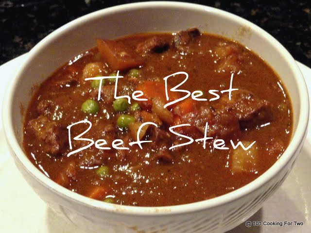 The Best Crock Pot Beef Stew from 101 Cooking For Two