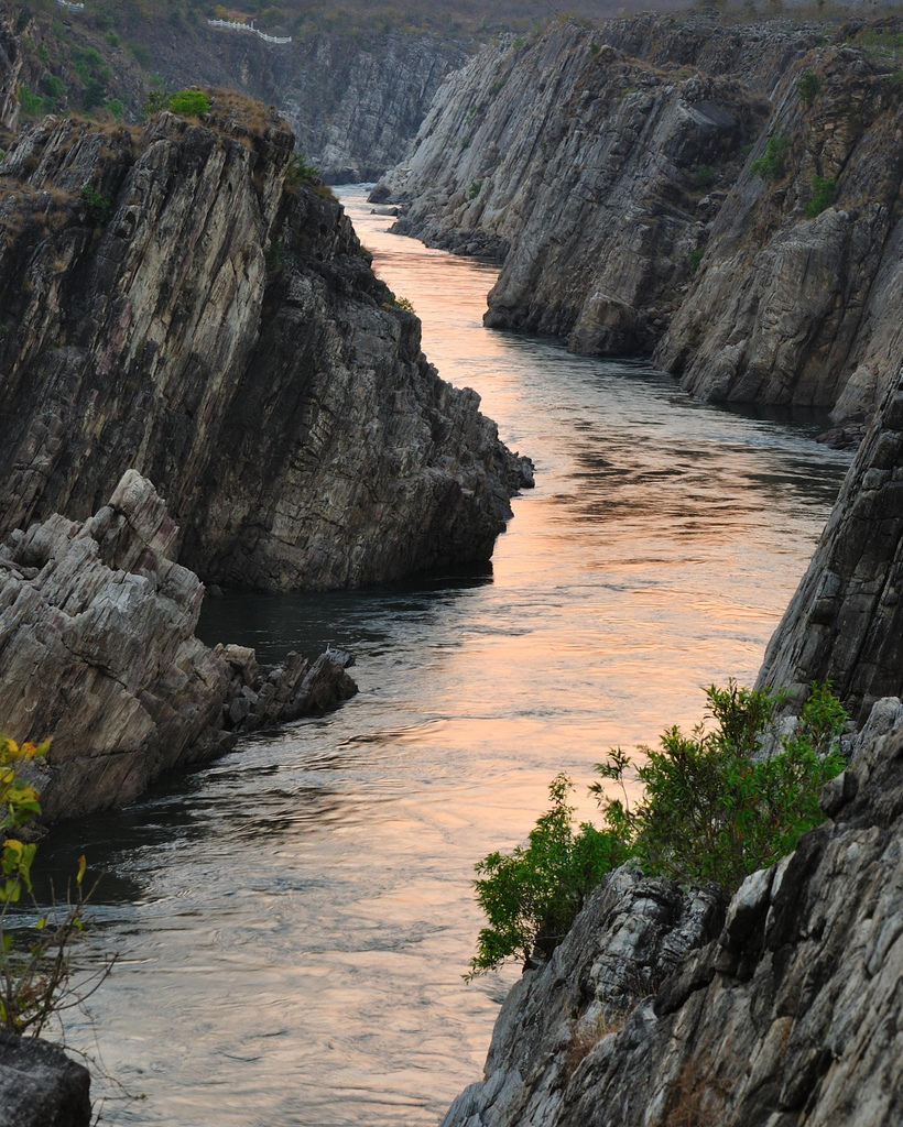 Narmada River, Madhya Pradesh,India:
