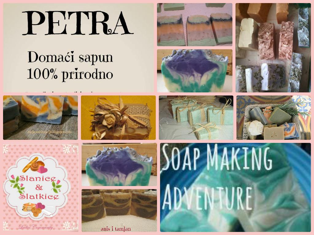 U znak zahvalnosti svi ostali učesnici ce dobiti po jedan sapun  DARUJU PETRA Domaći sapuni -100% prirodno i Soap Making Adventure