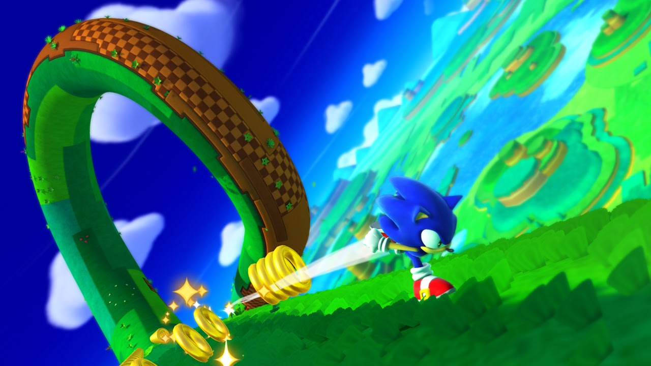 Sonic Lost World Yoshi S Island Zone