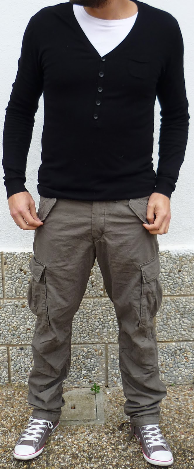 pantalón militar bolsillos