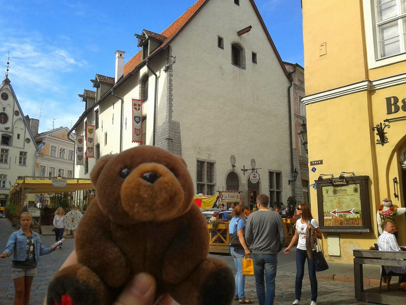 Teddy Bear in Tallinn, Estonia