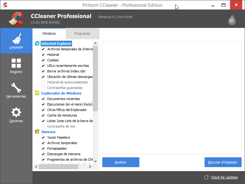 CCleaner 5 Professional