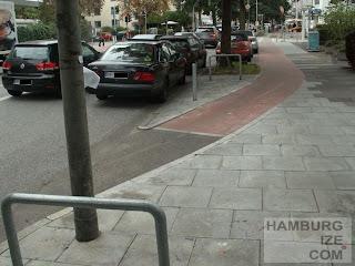 Radweg Hofweg zur Papenhuder Straße