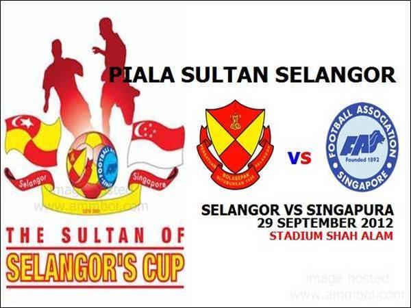 Keputusan Selangor vs Singapura Piala Sultan Selangor 29 September 2012