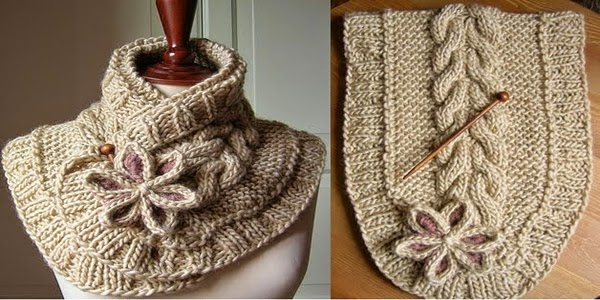 Ideas & Products: A Beautiful Knit Scarf (free pattern)
