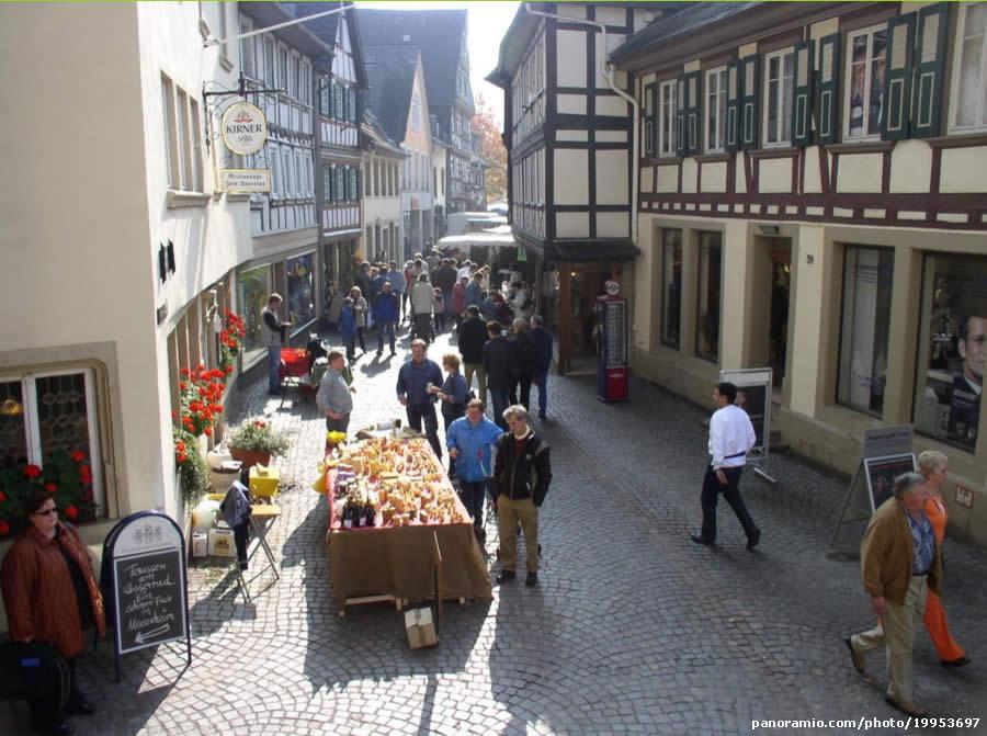 Markttag in Untergasse - Meisenheim - Alemanha/ Germany