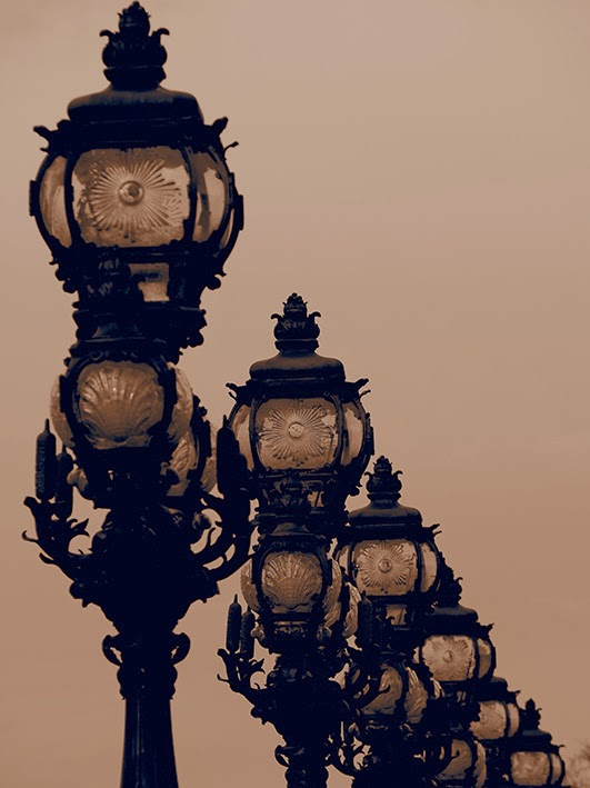Street Lights - Pont Alexandre III, Paris