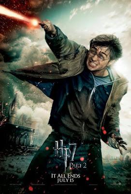 Harry Potter y las reliquias de la muerte. Parte 2. Poster Harry