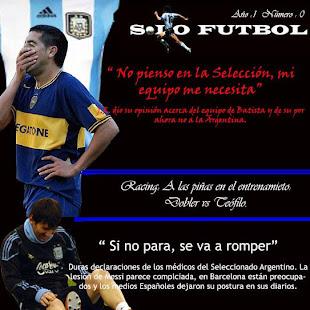 Tapa Sólo Fútbol