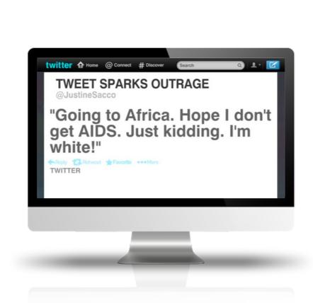 Pierde su trabajo por un tuit