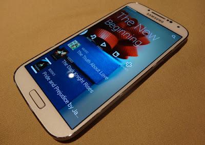 Samsung Lancar Galaxy S4