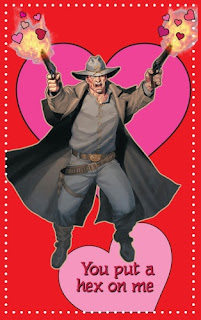 Jonah Hex Valentine's Day card from Young Romance #1