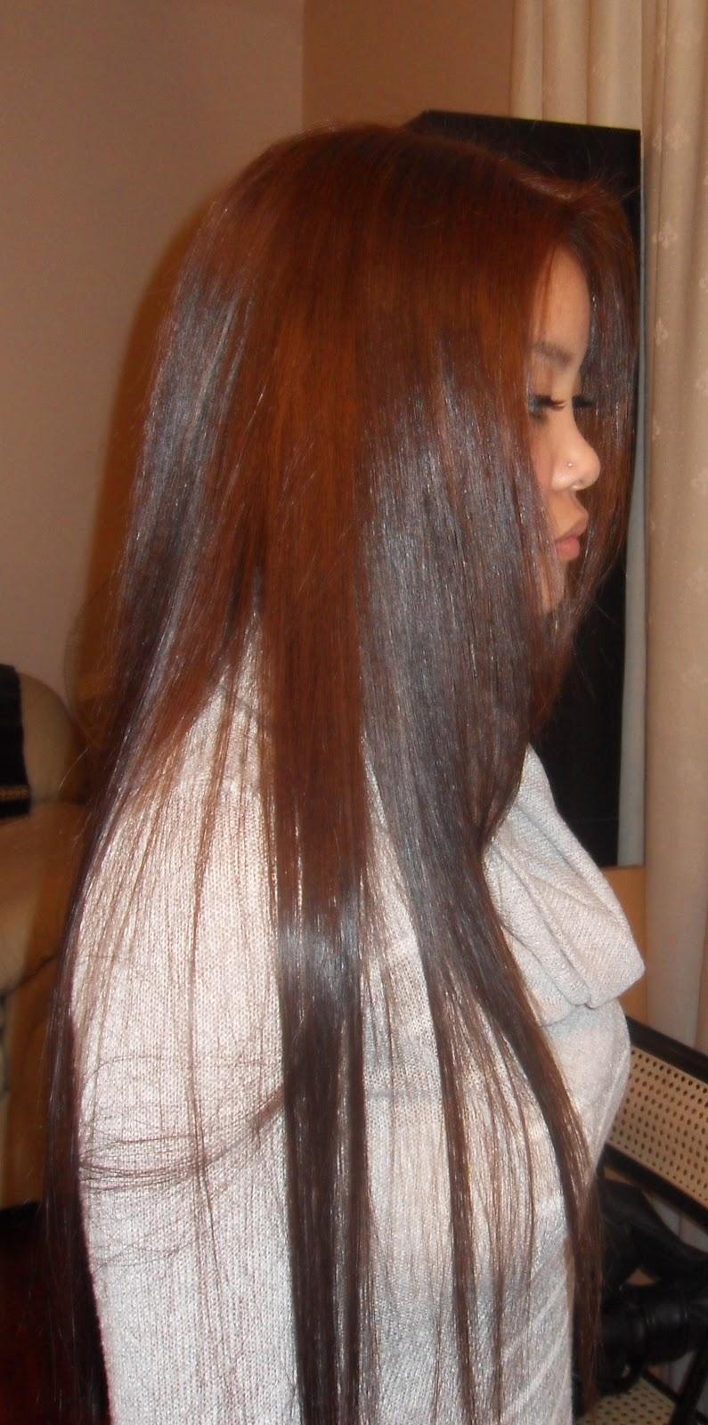 Shorouq Salon Lightening Black Hair To Brown