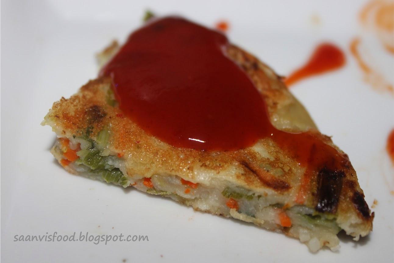 Vegetable Pancake / Yachaejeon