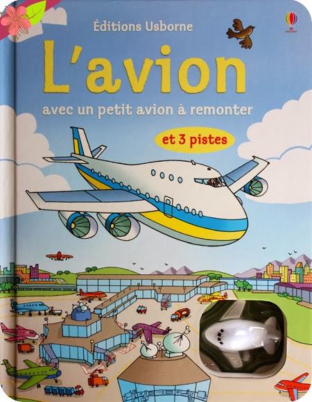 """""""L'avion"""" publié par les éditions Usborne"""