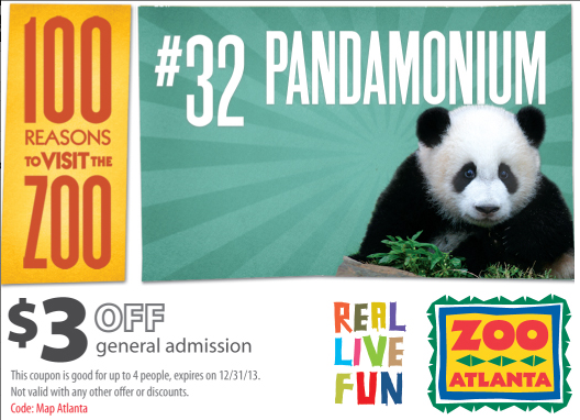 Zoo Atlanta Coupons Tickets